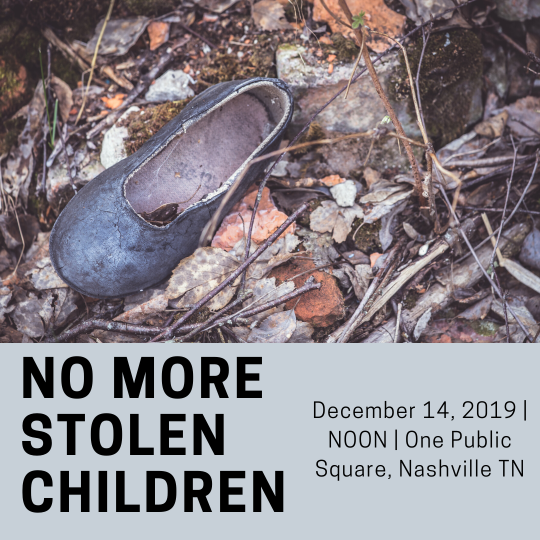 NO MORE Stolen children square